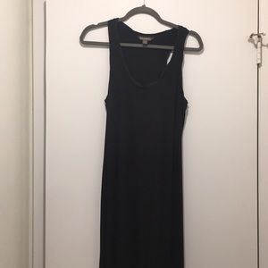 Tommy Bahama black racer back maxi dress